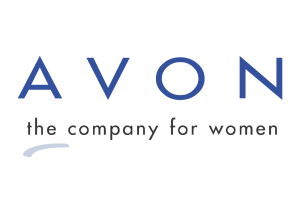 Avon logo, blue