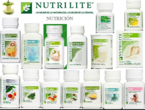 Nutrilite product display