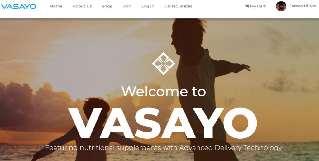 Vasayo site Home